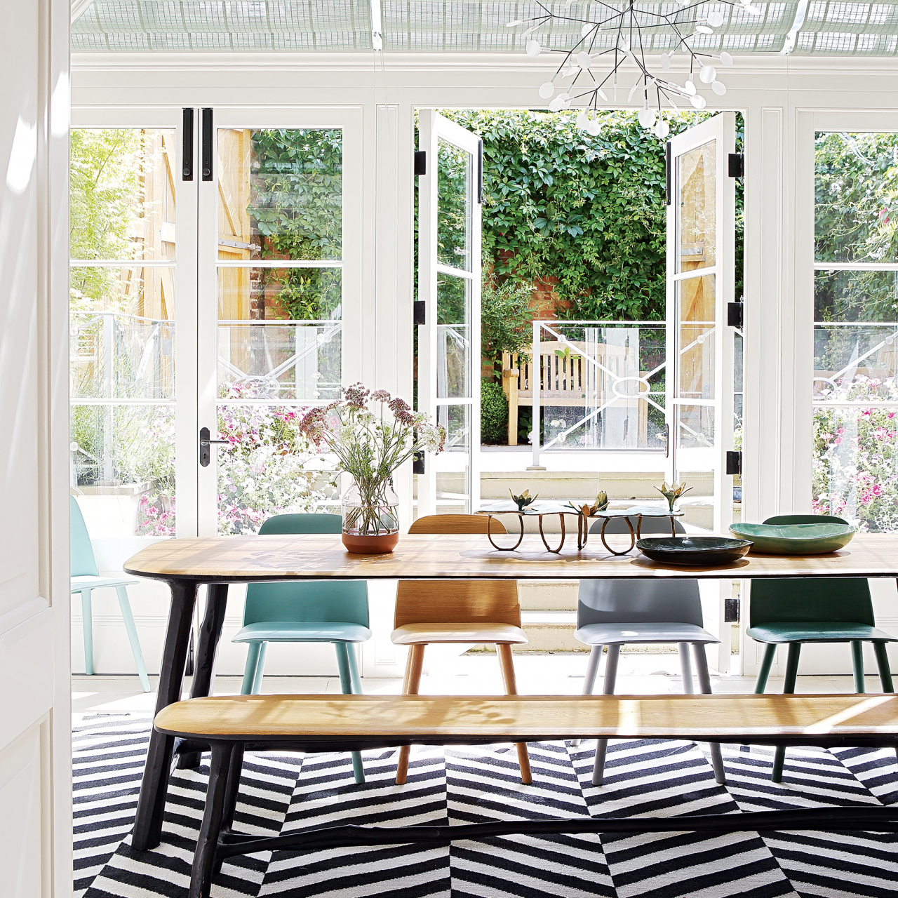 A curated family-home